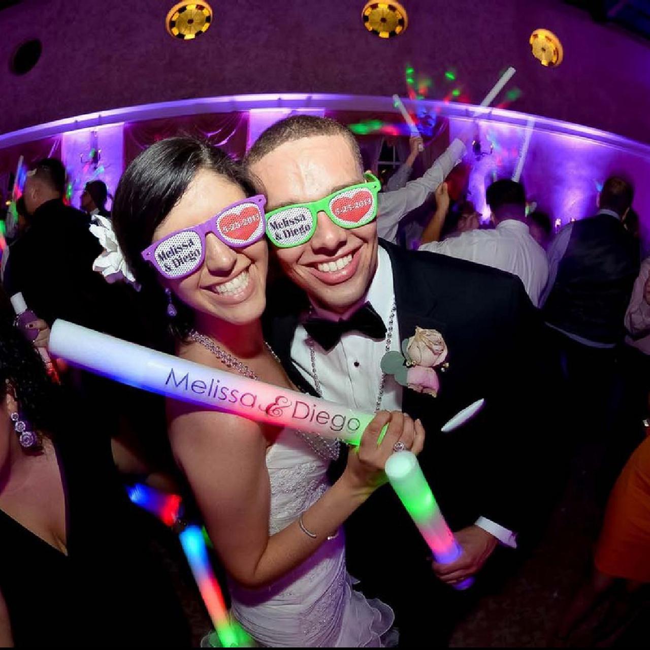 Customized Sunglasses in bulk For Wedding | King of Sparklers