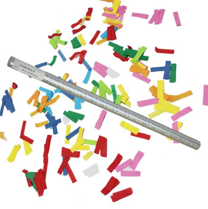 Confettis Stick - 14 inch