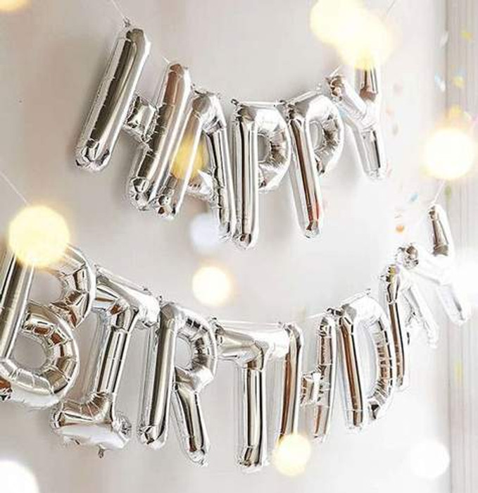 Jumbo letters balloons