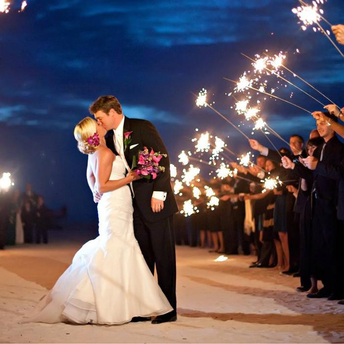 Premium Gold Wedding Sparklers 36 inch