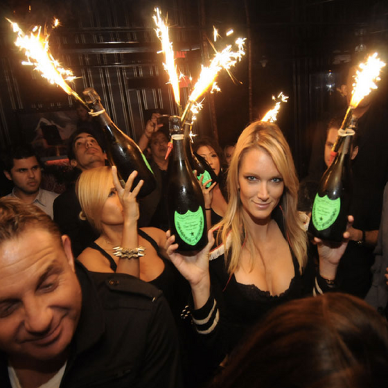 Vip Bottle Sparklers By King Of Sparklers