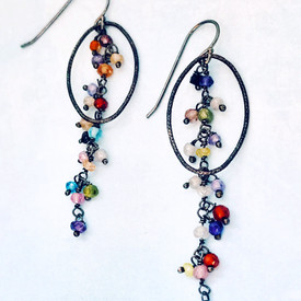 Contemporary casual earrings