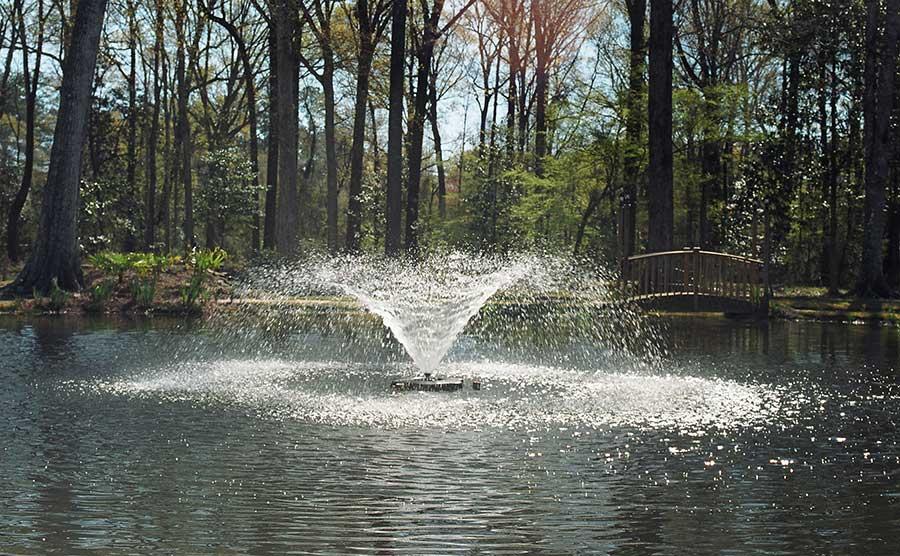 3400jf Kasco Flaoting Pond Foutain Willow Display