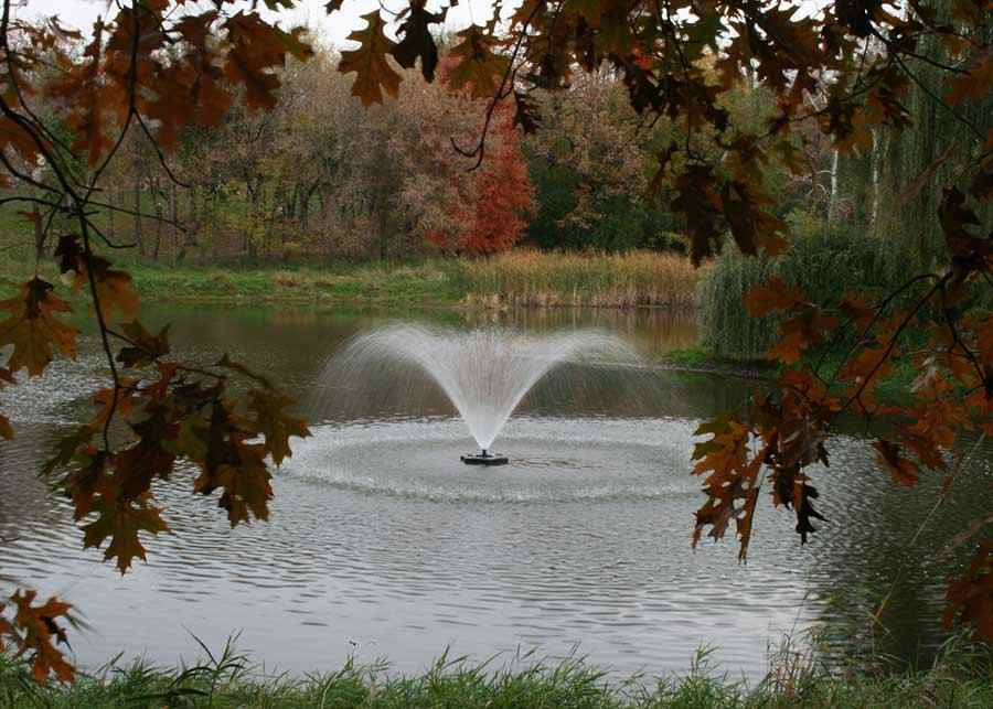 4400jf Kasco Fountain Willow Display