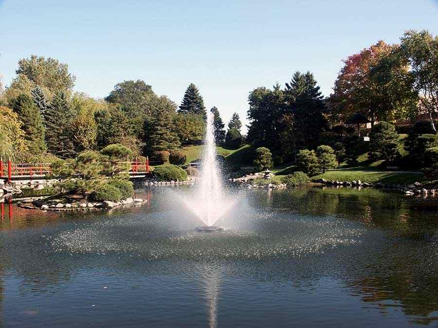 8400jf Kasco Fountain Linden Display
