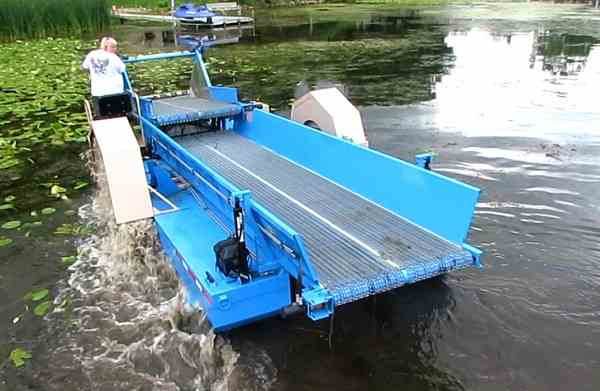 Eco Cutter - Aquatic lake Weed Harvester