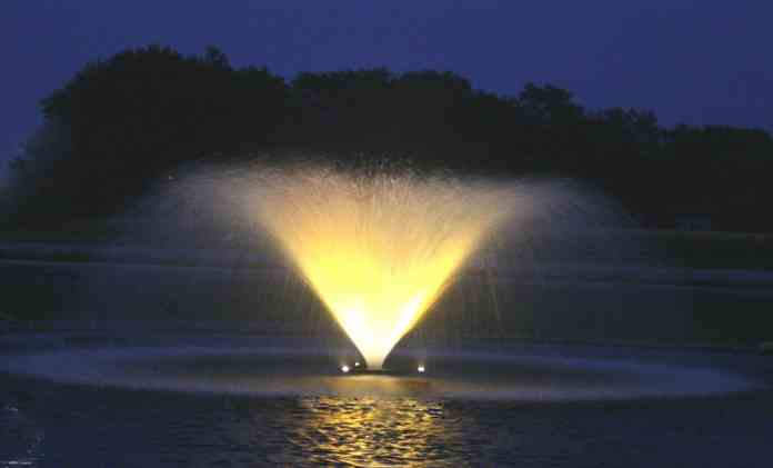 5.3vfx Lighted Pond Fountain