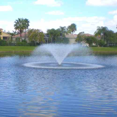 5vf Kasco Floating Pond Fountain