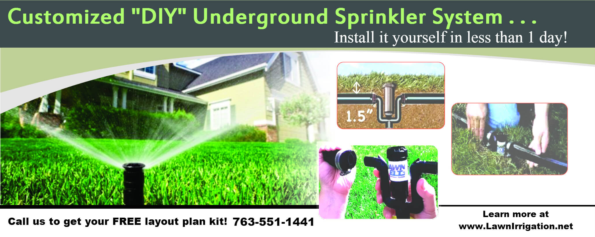 Do it Yourself Underground Sprinkler System