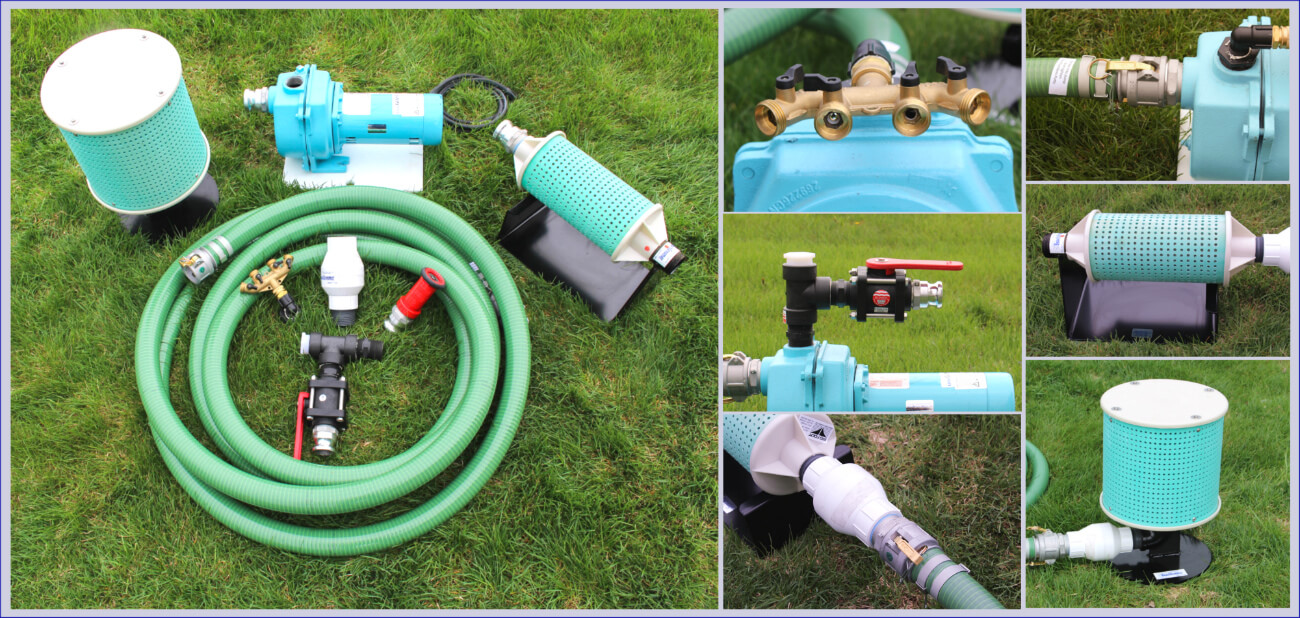 Buy top rated Lake & Lawn irrigation pump packages for watering lawn
