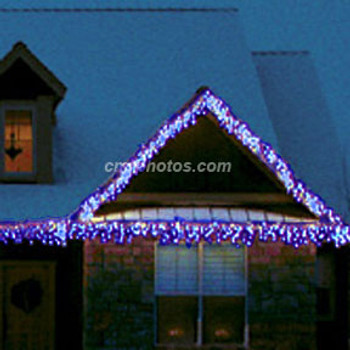 blue led m5 christimas icicle light set 100ledm5icewb