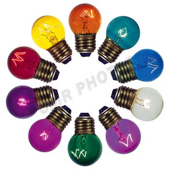 7watt G12.5 Transparent Color Options ...