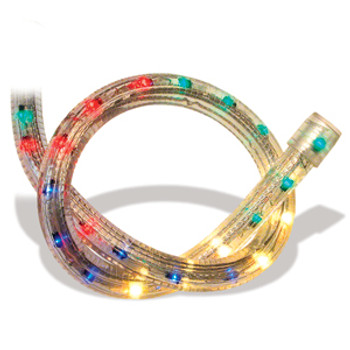 Rope lights 5 wire 58 crown chasing rope light accessories 5 wire 58 crown 3bulbcircuit chasing rope light red blue aloadofball Gallery