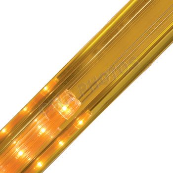 Led rope light led crown 12 rope light accessories page 1 gold crown premium refective rope light track 206refg aloadofball Image collections