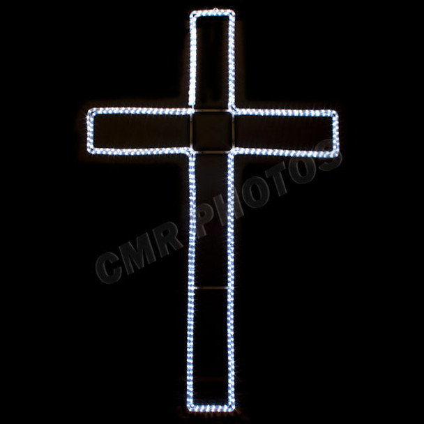 6 led cross rope light motif silhouette display 100molcross 6 6 led cross rope light motif silhouette display 100molcross 6 aloadofball Gallery