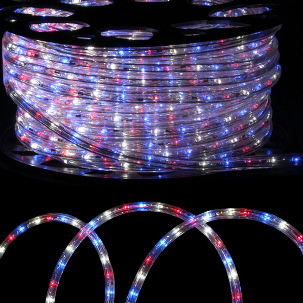 Premium led 12 rope light by crown actionlighting 12 led rope light red white blue aloadofball Gallery
