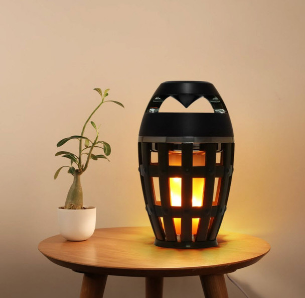 Tabletop Bluetooth LED Flame  Speaker