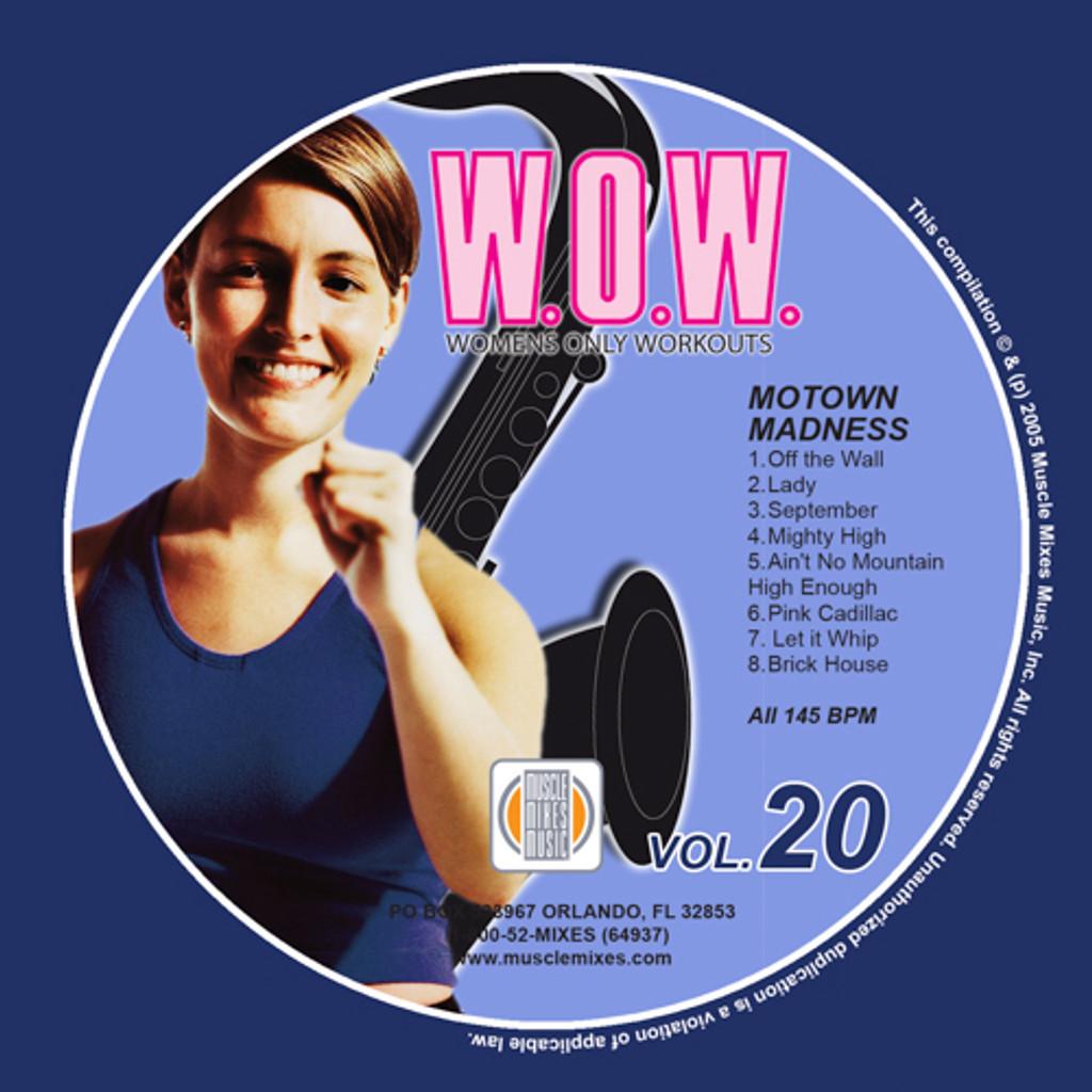 MOTOWN MADNESS-W.O.W.#20