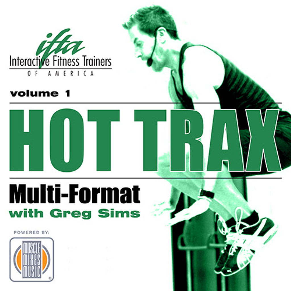 Hot Trax with Greg Sims, vol. 1 - CD