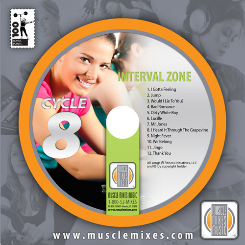 INTERVAL ZONE for Indoor Cycling -CD