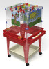 Childbrite 4 Station Space Saver Easel w/Mega-Tray 2