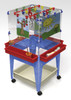 Childbrite 4 Station Space Saver Easel w/Mega-Tray
