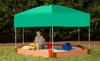 Hexagon Sandbox w/ Telescoping Canopy & Cover