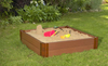 "4' x 4' x 11"" Square Sandbox Kit 4"