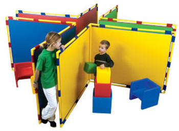 Children's Factory Corner Big Screen Panel in 4 Colors 1