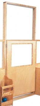 Deluxe Short Door with Frame, 38''w 1