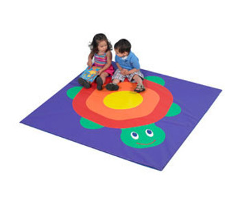 Children's Factory Turtle Child Activity Mat