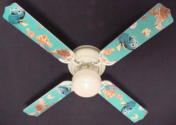 """Finding Nemo Ceiling Fan 42"""" 1"""