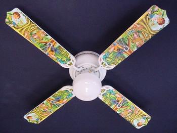 """Go Diego & Dora Ceiling Fan 42"""" 1"""