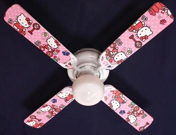 """Hello Kitty Sweet Dreams Ceiling Fan 42"""" 1"""