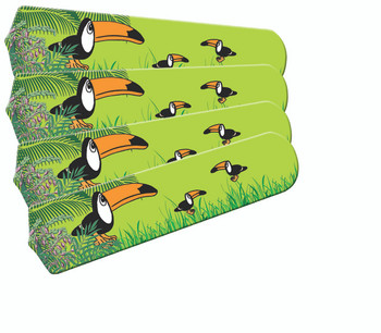 Lazy Daises Flowers Green Yellow 52 Quot Ceiling Fan Blades