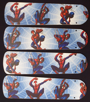 "Amazing Spiderman 3 Ceiling Fan 42"" Blades Only 1"