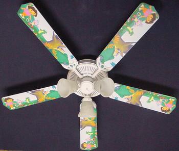 """Dora The Explorer & Boots Ceiling Fan 52"""" 1"""