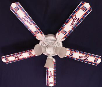 "MLB Detroit Tigers Baseball Ceiling Fan 52"""