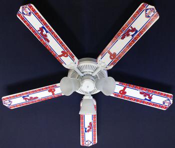 """MLB Philadelphia Phillies Baseball Ceiling Fan 52"""" 1"""