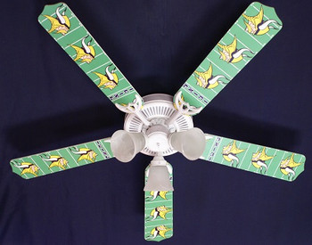 "NFL Minnesota Vikings Football Ceiling Fan 52"""