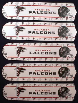"NFL Atlanta Falcons Football 52"" Ceiling Fan Blades Only 1"