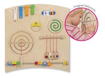 Haba Learning Wall Curve A Wall Toy Close