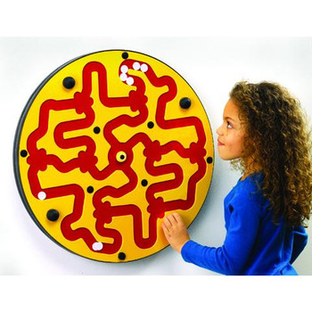 Amazer Wall Toy Yellow on Red