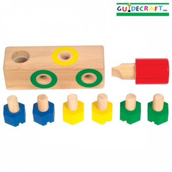 Guidecraft Screw Block 1