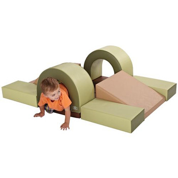 Cozy Woodland Hideout Soft Play Climber 1