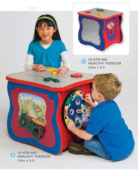 Healthy Toddler Activity Island