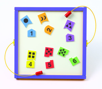 Numbers Match Magnetic Wall Toy