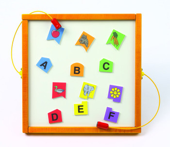 Letters Match Magnetic Wall Game