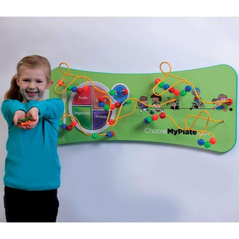 MyPlate Flip Wall Game Wall Toy