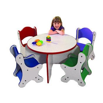 Playscapes Friends Table and 4 Chair Set